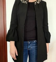 Zara lagani kaput sa biserima
