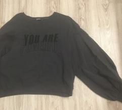 Zara majica s puf rukavima