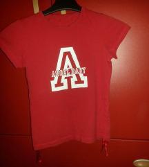 Crvena pamucna majica 34—36vel.