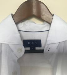 Eton bijela kosulja od lana
