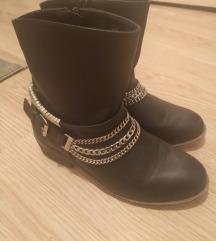 Crne čizme/gležnjače