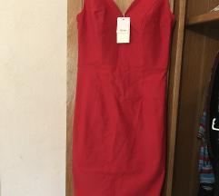 Crvena Grace Karin haljina S veličina
