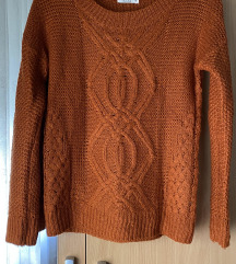 Narančasti džemper