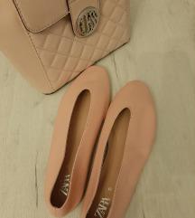Zara kožne balerinke - novo