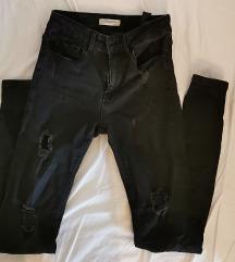 Zara crne jeans