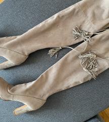 Schutz čizme iznad koljena 39
