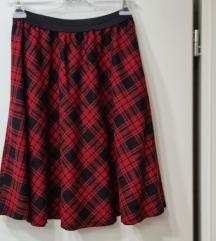 Vicolo karirana suknja novo