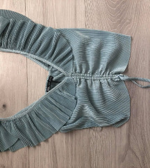 Zara mint top