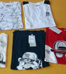 5 novih dječjih majica za proljeće, vel 182