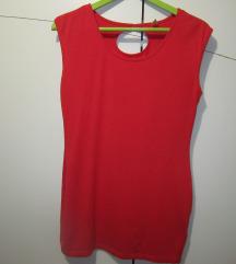 Crvena pamučna majica