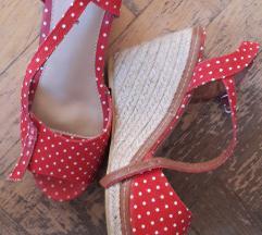 Crvene sandale/49kn!