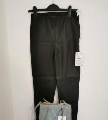 Zara kožne hlače