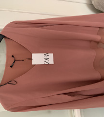 Zara roza bluza