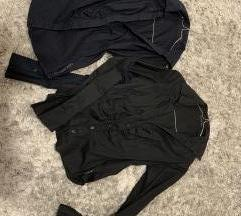 LOT Calvin Klein košulja, crna i tamnoplava