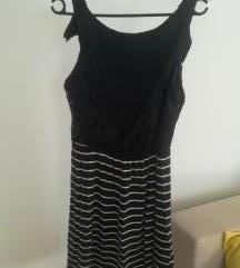 Ljetna prugasta haljina