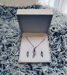 Set nakita srebro