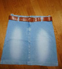 Traper suknja s remenom