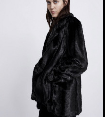 Zara bunda fake fur