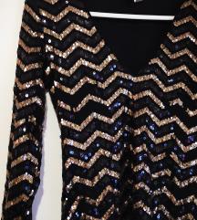 H&M novogodisnja haljina