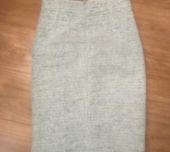 ZARA zimska midi suknja