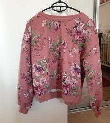 Reserved floral majica