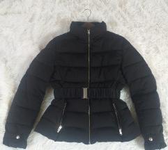 Nova zara pernata crna jakna