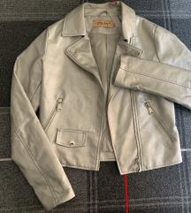 🌸Srebrna jakna od umjetne kože🌸