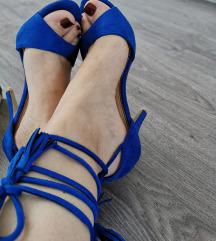 Wish plave sandale