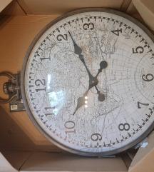 Novi zidni sat promjera 55 cm iz Emmezete