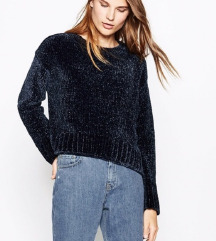 Zara Velvet Sweater