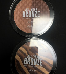 Aura kozmetika All Year Bronze bronzing powder