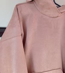 Hoodie haljina od antilopa nova