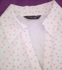 Bluza/kosulja,kratki rukav,rastezljivi pamuk