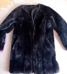 Sniženo! Crno siva bunda cijena s pošt.