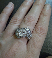 Prsten srebro-cirkon