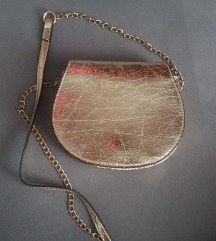 Zlatna torbica za preko ramena 💥