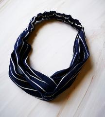 Nova modra traka za glavu