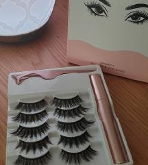 Luxury Magnetic Lashes, Eyeliner & Applicator Kit