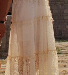 Duga boho haljina