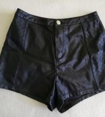 Kožne kratke hlače