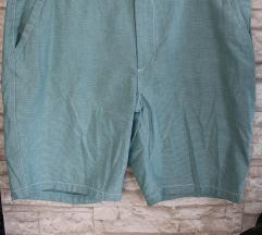 Muške kratke hlače svjetlo zelena prugice sitne