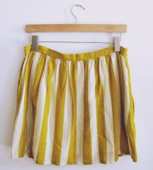 NAF NAF suknja na prugice