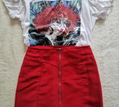 Crvena suknja 36 s pt