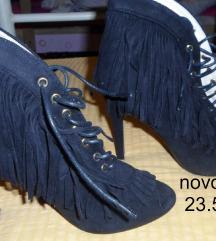 Sandale-gleznjace crne