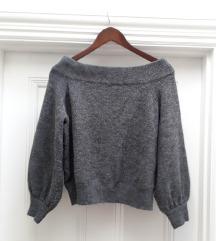 H&M sivi džemper