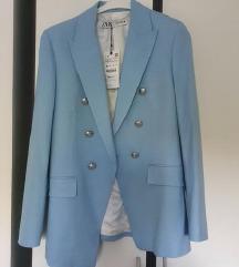 Novi Zara plavi sako s etiketom