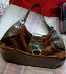 Smeđa ženska torba