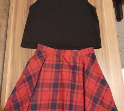 Lot suknja i top
