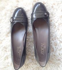 Zocal sive lakirane kožne cipele
