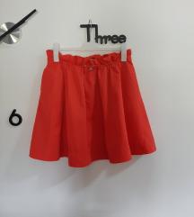 Reserved, crvena suknja, veličina 38